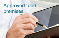 Approved food premises