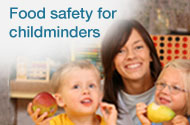 Food safety for childminders