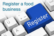 Register a food business