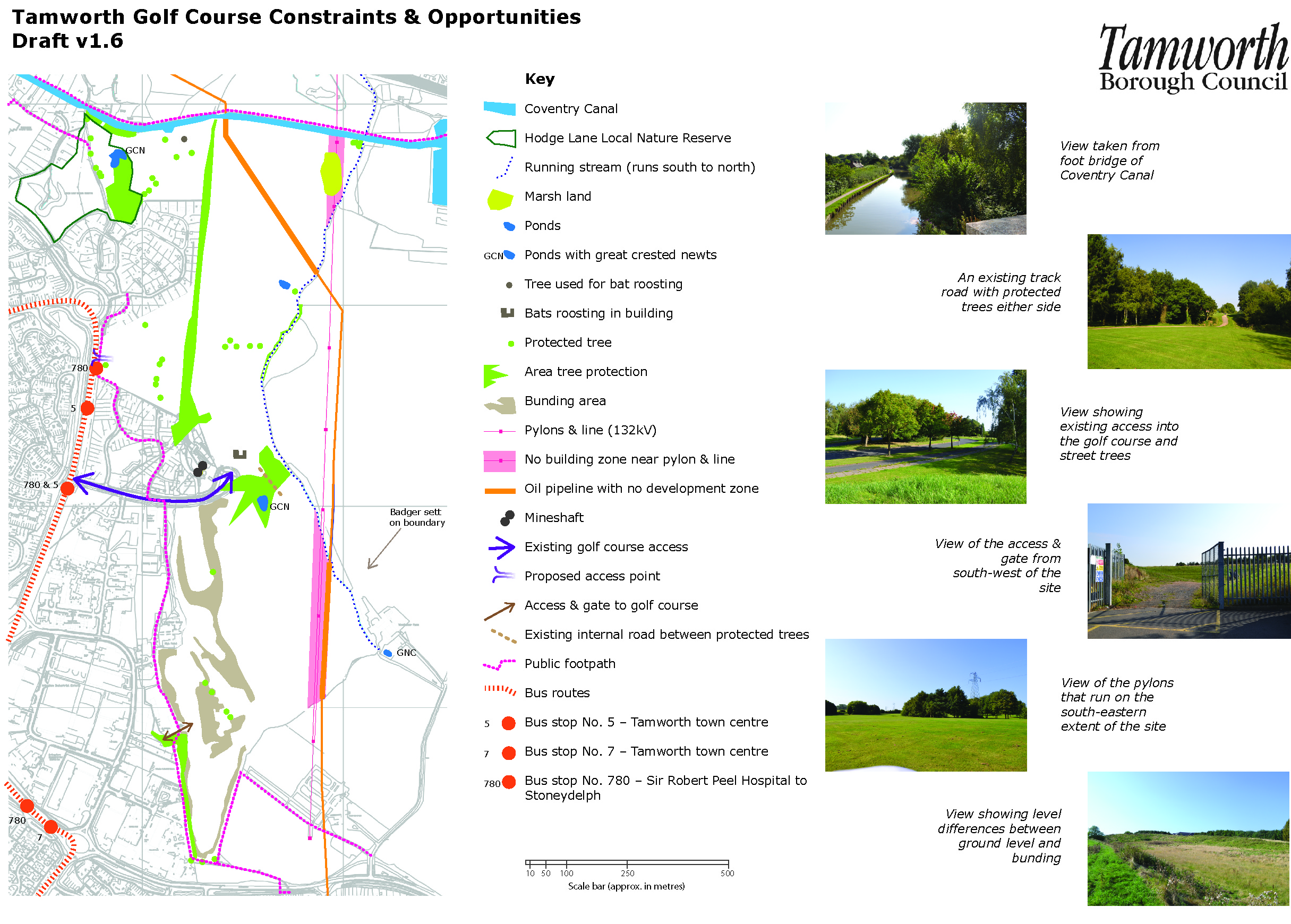 Golf course plans and reports Tamworth Borough Council